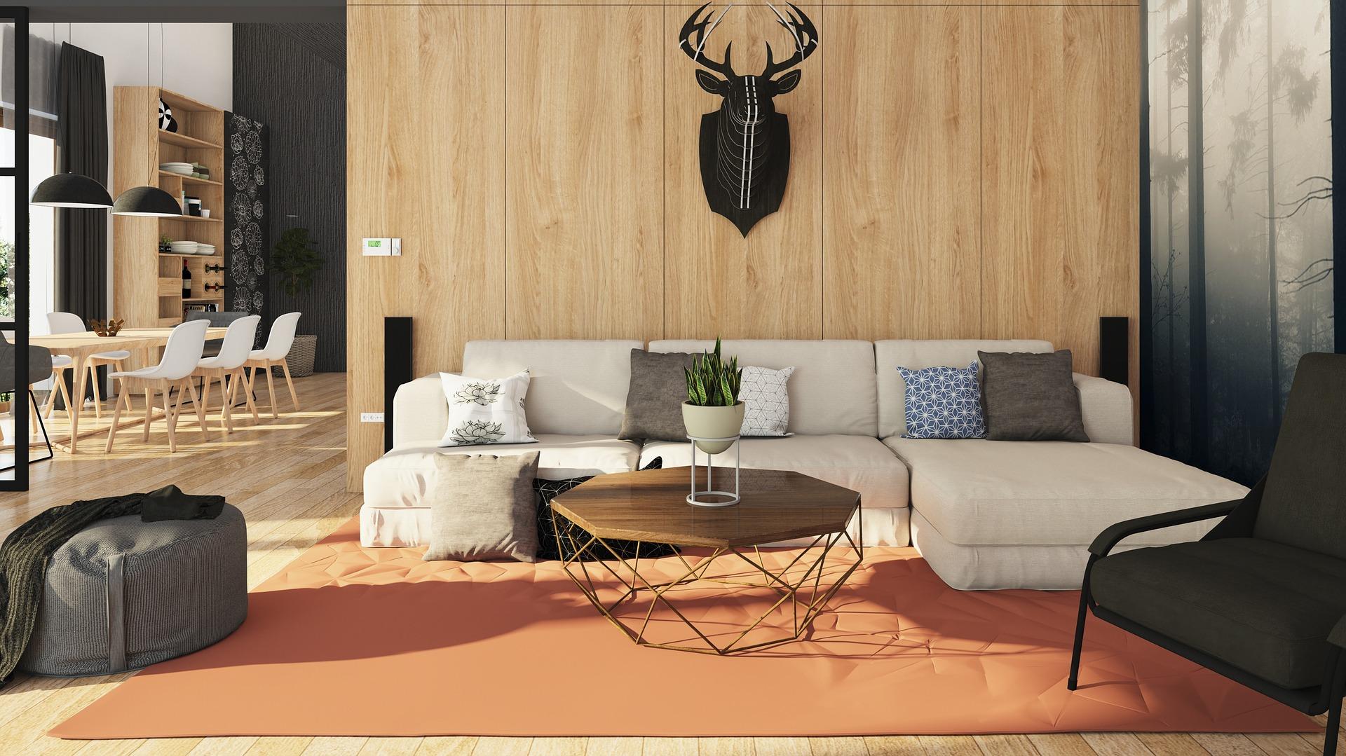 Moderní interiér obývák