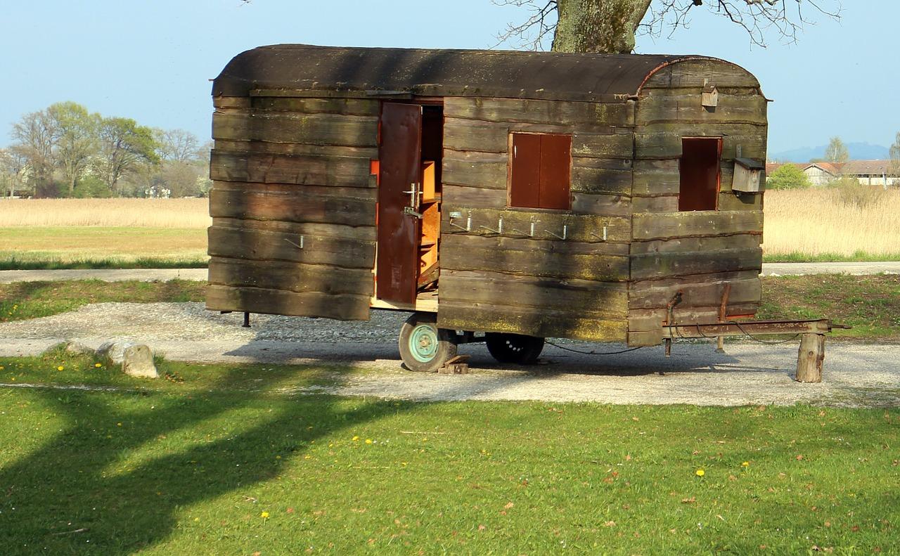 historický mobilní dům