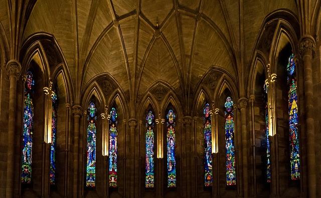 architektura kostela