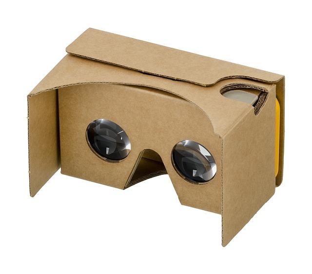 virtuální realita z krabice