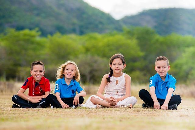 čtyři děti