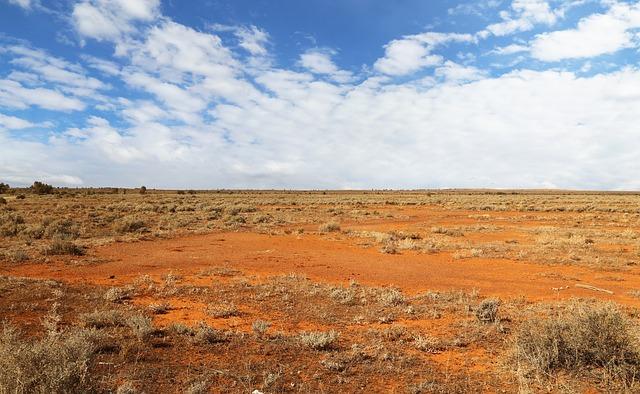 červená poušť