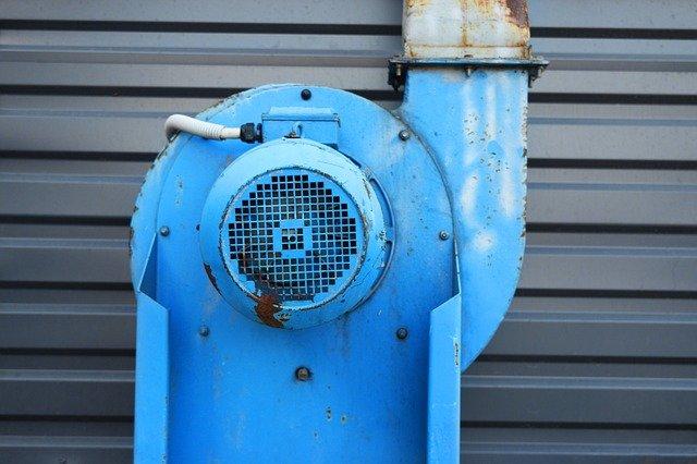 starý ventilátor